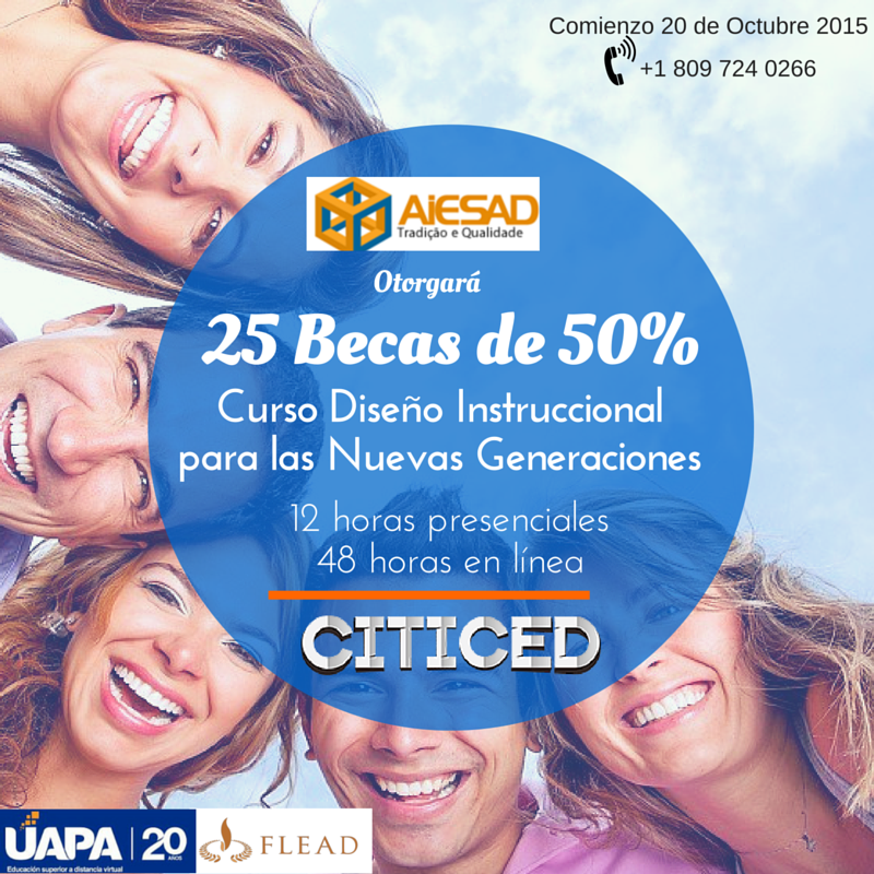 25 Becas CITICED_OCT15